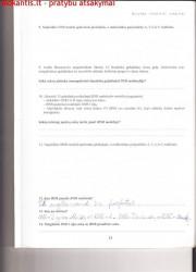 Biologija 10 klasei 1 dalis 13 puslapis nemokami pratybų atsakymai