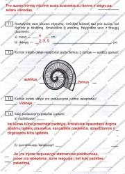 Biologija ir sveikata 9 klasei 2 dalis 42 puslapis nemokami pratybų atsakymai