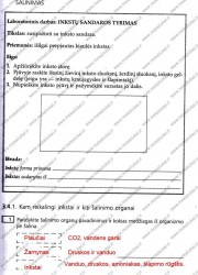 Biologija ir sveikata 9 klasei 2 dalis 9 puslapis nemokami pratybų atsakymai