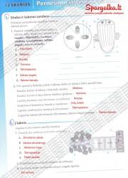 Biologija tau 2 - 9-10 klasei 12 puslapis nemokami pratybų atsakymai