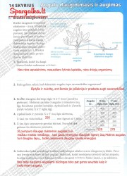Biologija tau 2 - 9-10 klasei 17 puslapis nemokami pratybų atsakymai