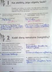 Gamta ir zmogus 6 klasei 1 dalis 4 puslapis nemokami pratybų atsakymai