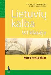 Lietuvių kalbos konspektas 7 klasei atsakymai nemokamai virselis