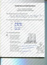 Lietuviu kalba 5 klasei 14 puslapis nemokami pratybų atsakymai