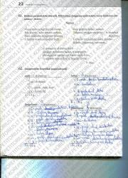 Lietuviu kalba 5 klasei 22 puslapis nemokami pratybų atsakymai