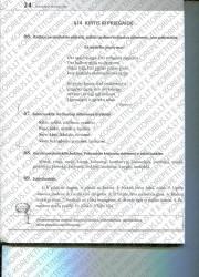 Lietuviu kalba 5 klasei 24 puslapis nemokami pratybų atsakymai