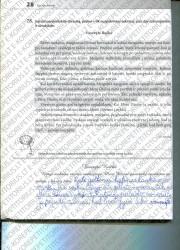 Lietuviu kalba 5 klasei 28 puslapis nemokami pratybų atsakymai