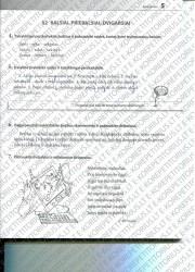 Lietuviu kalba 5 klasei 5 puslapis nemokami pratybų atsakymai