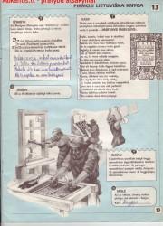 Lietuvos istorija 5 klasei 13 puslapis nemokami pratybų atsakymai