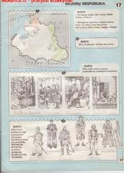 Lietuvos istorija 5 klasei 17 puslapis nemokami pratybų atsakymai