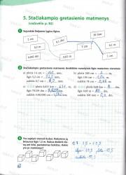 Matematika 5 klasei 42 puslapis nemokami pratybų atsakymai