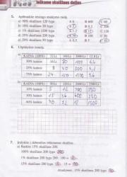 Matematika Tau Plius 7 klasei 2 dalis 2 puslapis nemokami pratybų atsakymai