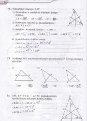 Matematika Tau Plius 7 klasei 2 dalis 26 puslapis nemokami pratybų atsakymai
