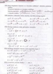 Matematika Tau Plius 7 klasei 36 puslapis nemokami pratybų atsakymai