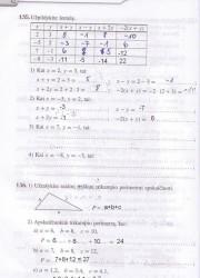 Matematika Tau Plius 7 klasei 42 puslapis nemokami pratybų atsakymai