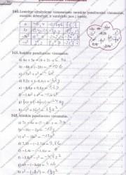 Matematika Tau Plius 7 klasei 44 puslapis nemokami pratybų atsakymai