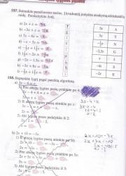 Matematika Tau Plius 7 klasei 64 puslapis nemokami pratybų atsakymai