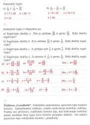 Matematika ir pasaulis 2 dalis 10 puslapis nemokami pratybų atsakymai