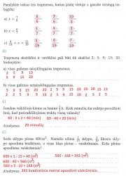 Matematika ir pasaulis 2 dalis 13 puslapis nemokami pratybų atsakymai