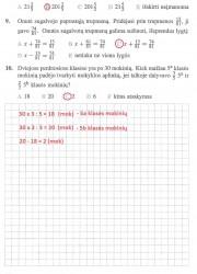 Matematika ir pasaulis 2 dalis 16 puslapis nemokami pratybų atsakymai