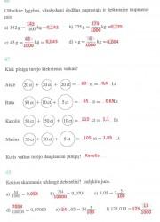 Matematika ir pasaulis 2 dalis 18 puslapis nemokami pratybų atsakymai