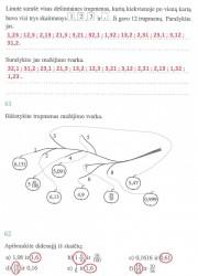 Matematika ir pasaulis 2 dalis 22 puslapis nemokami pratybų atsakymai