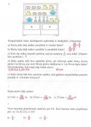 Matematika ir pasaulis 2 dalis 3 puslapis nemokami pratybų atsakymai