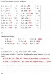 Matematika ir pasaulis 2 dalis 42 puslapis nemokami pratybų atsakymai