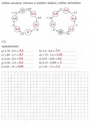 Matematika ir pasaulis 2 dalis 45 puslapis nemokami pratybų atsakymai