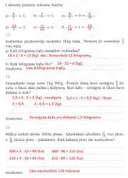 Matematika ir pasaulis 2 dalis 5 puslapis nemokami pratybų atsakymai