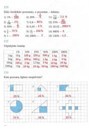 Matematika ir pasaulis 2 dalis 52 puslapis nemokami pratybų atsakymai