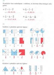 Matematika ir pasaulis 2 dalis 8 puslapis nemokami pratybų atsakymai