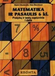 Matematika ir pasaulis 6 klasei 1 dalis pratybų atsakymai nemokamai virselis