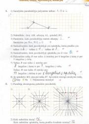 Matematika tau 5 klasei 1 dalis 1 puslapis nemokami pratybų atsakymai