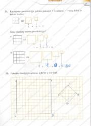 Matematika tau 5 klasei 1 dalis 17 puslapis nemokami pratybų atsakymai