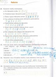 Matematika tau 5 klasei 1 dalis 20 puslapis nemokami pratybų atsakymai