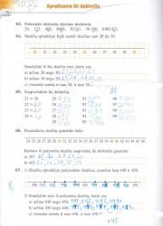 Matematika tau 5 klasei 1 dalis 28 puslapis nemokami pratybų atsakymai