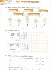 Matematika tau 5 klasei 1 dalis 34 puslapis nemokami pratybų atsakymai