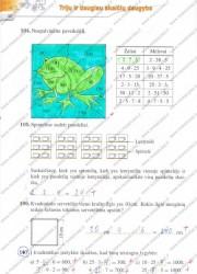 Matematika tau 5 klasei 1 dalis 40 puslapis nemokami pratybų atsakymai