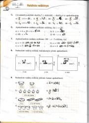 Matematika tau 5 klasei 2 dalis 2 puslapis nemokami pratybų atsakymai