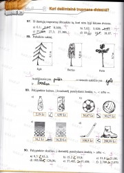 Matematika tau 5 klasei 2 dalis 26 puslapis nemokami pratybų atsakymai