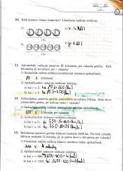 Matematika tau 5 klasei 2 dalis 3 puslapis nemokami pratybų atsakymai