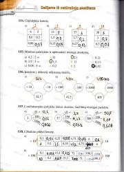 Matematika tau 5 klasei 2 dalis 38 puslapis nemokami pratybų atsakymai