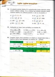 Matematika tau 5 klasei 2 dalis 4 puslapis nemokami pratybų atsakymai