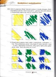 Matematika tau 5 klasei 2 dalis 46 puslapis nemokami pratybų atsakymai