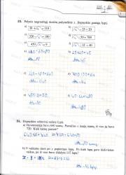 Matematika tau 5 klasei 2 dalis 7 puslapis nemokami pratybų atsakymai