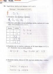 Matematika tau 6 klasei 1 dalis 14 puslapis nemokami pratybų atsakymai