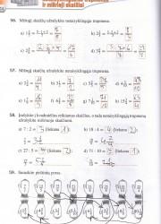Matematika tau 6 klasei 1 dalis 24 puslapis nemokami pratybų atsakymai