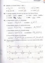 Matematika tau 6 klasei 1 dalis 27 puslapis nemokami pratybų atsakymai