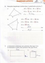 Matematika tau 6 klasei 1 dalis 3 puslapis nemokami pratybų atsakymai